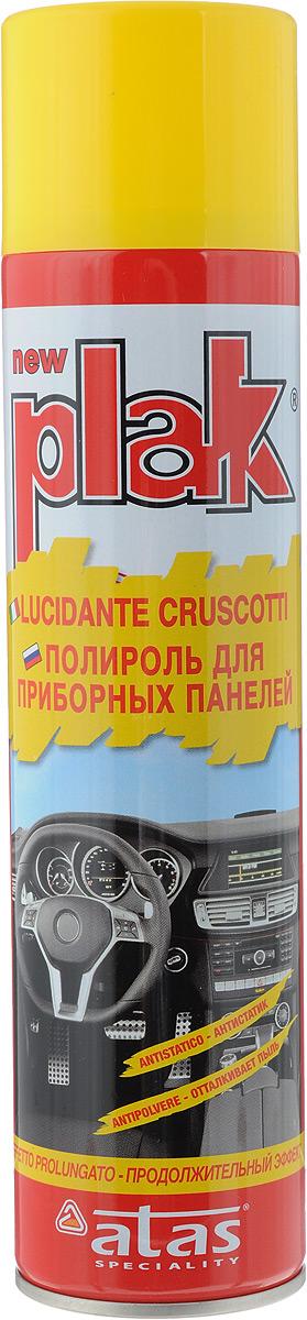 Полироль для приборных панелей Plak Лимон, 400 млEL-0802.34Полироль Plak Лимон предназначен для панели приборов, содержит освежитель воздуха продленного действия. Возвращает первоначальный блеск всем пластмассовым, виниловым и резиновым элементам отделки салона автомобиля, создавая на поверхности стойкий антистатический слой, отталкивающий пыль и грязь. Также полироль позволяет создать глянцевое покрытие. Товар сертифицирован.