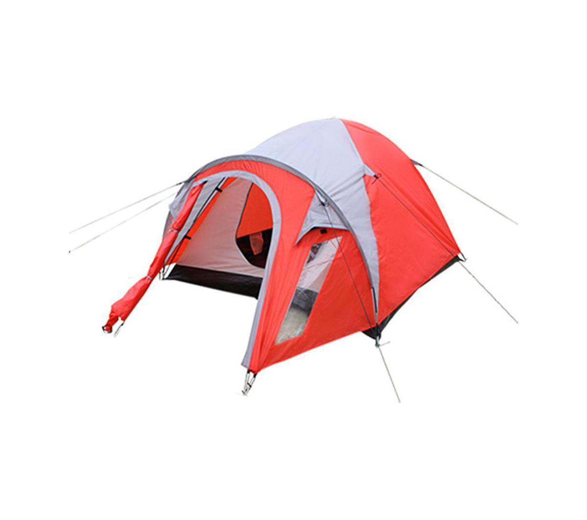 Палатка Happy Camper PL-3P-86213PL-3P-86213Удобная трехместная палатка с большим тамбуром прекрасно подходит для активного отдыха. Противомоскитные сетки защитят от насекомых, а благодаря внутренним карманам все необходимые вещи всегда будут под рукой. Внутренний тент можно устанавливать отдельно.Особенности:Проклеенные швы;Два вентиляционных отверстия. Характеристики: Размер палатки в разложенном виде (ДхШхВ): 290 см х 180 см х 125 см. Наружный тент:190T полиэстер. Внутренняя палатка: 190T полиэстер. Дно: 120GSM полиэтилен. Каркас:дуги из фибергласа диаметром 7,9 мм. Вес:3300 г. Размер в сложенном виде: 57 см х 13 см х 13 см.