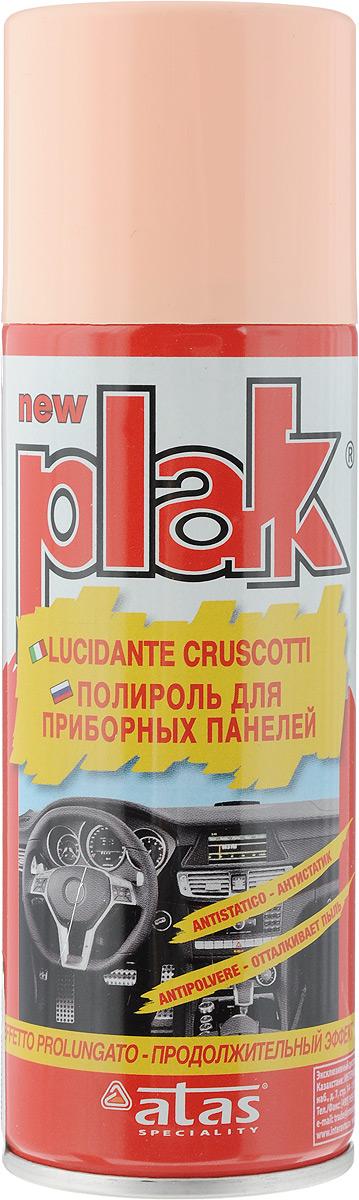 Полироль для приборных панелей Plak Персик, 200 млEL-0802.27Полироль Plak Персик предназначен для панели приборов, содержит освежитель воздуха продленного действия. Возвращает первоначальный блеск всем пластмассовым, виниловым и резиновым элементам отделки салона автомобиля, создавая на поверхности стойкий антистатический слой, отталкивающий пыль и грязь. Также полироль позволяет создать глянцевое покрытие. Товар сертифицирован.