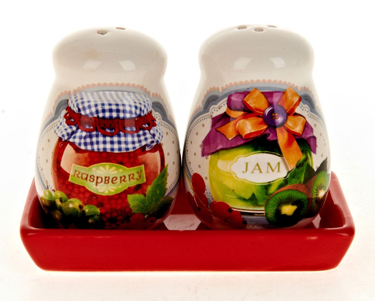 Набор для специй Polystar Джем, 2 предмета21395599Набор Джем для соли и перца, выполненный из керамики, благодаря своим компактным размерам не займет много места на вашей кухне. Солонка и перечница декорированы оригинальным рисунком. Набор Джем для соли и перца станет отличным подарком каждой хозяйке.Размер набора: 12 x 6,5 x 8,5 см.