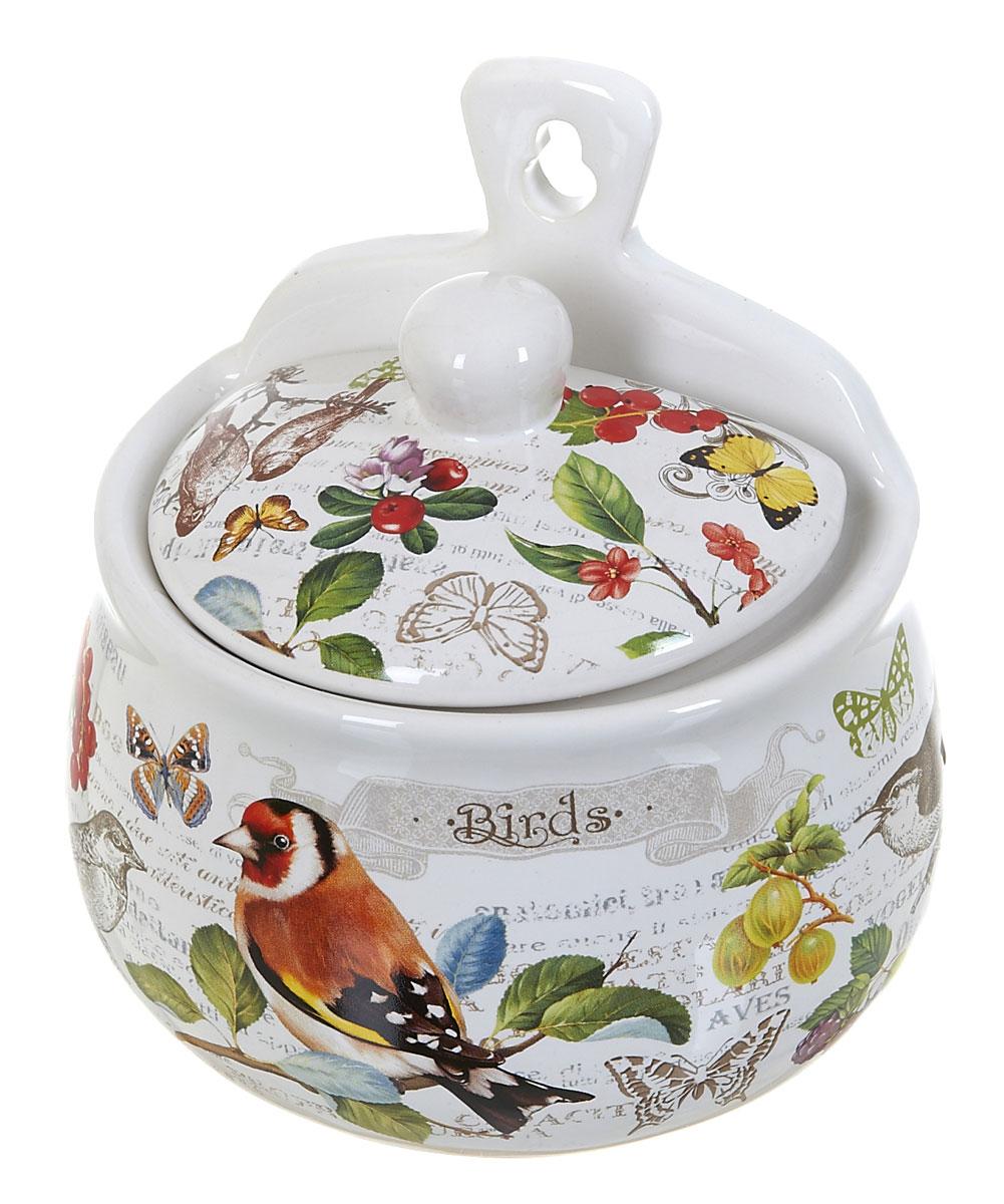 Солонка Polystar Birds21395599Оригинальная солонка Birds изготовлена из высококачественной керамики. Изделие имеет отверстие для подвешивания. Солонка украсит любую кухню и подчеркнет прекрасный вкус хозяина.
