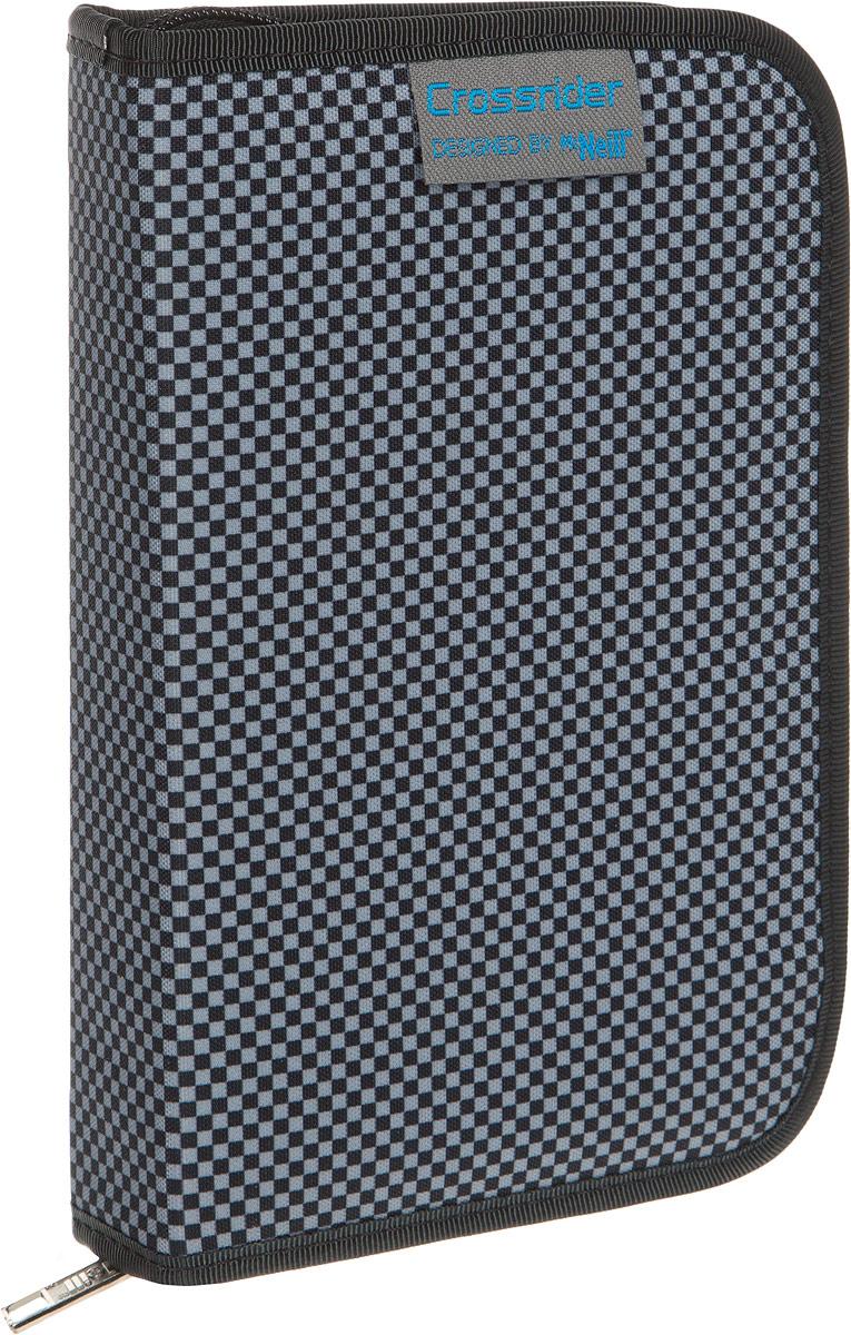 McNeill Пенал Велогонщик9070166000Практичный школьный пенал Mc Neill Велогонщик станет для ребенка незаменимым спутником в школе. Модель на застежке-молнии отличается оригинальным дизайном и хорошим качеством используемых материалов. Пенал выполнен из прочной синтетической ткани и содержит одно отделение с двумя откидными клапанами и креплениями для канцелярских принадлежностей внутри. Клапаны дополнены прозрачными пластиковыми карманами.