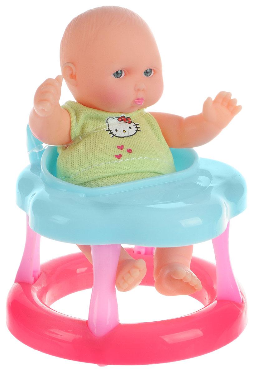 Карапуз Пупс Hello Kitty на стульчике муси пуси пупс на стульчике