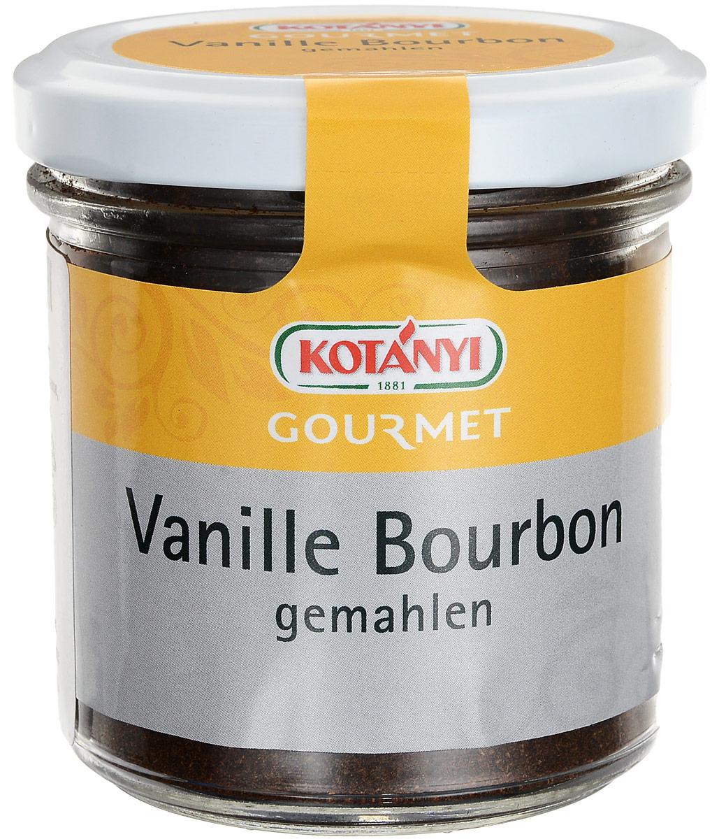 Kotanyi Ваниль бурбонная молотая, 60 г0120710Вкус ванили, которую обычно называют «королевой специй», так высоко ценится, что среди специй она стоит по стоимости на втором месте, уступая лишь шафрану. Использование ванили имеет чрезвычайно длительную историю. Инки и ацтеки обожали нежные и очень душистые стручки и применяли их для придания вкуса какао и многим другим блюдам. Изысканную специю употребляли также и в качестве лекарства, и в качестве духов с эффектом афродизиака. По сей день тайна ванили остается неразгаданной.Наконец у вас есть возможность насладиться подлинным вкусом ванили, черпать ее ложками, так как Kotanyi теперь предлагает вам чистую молотую ваниль, удобную новинку для истинных поклонников этой специи! Ваниль облегчает и ускоряет приготовление пищи, придавая ей особый вкус и аромат. Продукт легко добавлять в блюдо, и его вид радует глаз. Благодаря молотой ванили десерты и сладкие блюда будут дарить гостям чувственный опыт, а соления приобретут неповторимую экзотическую нотку.Уникальный и интенсивный аромат подлинной ванили придает изысканность кондитерским изделиям, творогу и сливкам.Внимание! Может содержать следы глютеносодержащих злаков, яиц, сои, сельдерея, кунжута, орехов, горчицы, молока (лактозы). Уважаемые клиенты! Упаковка может иметь несколько видов дизайна. Поставка осуществляется взависимости от наличия на складе.