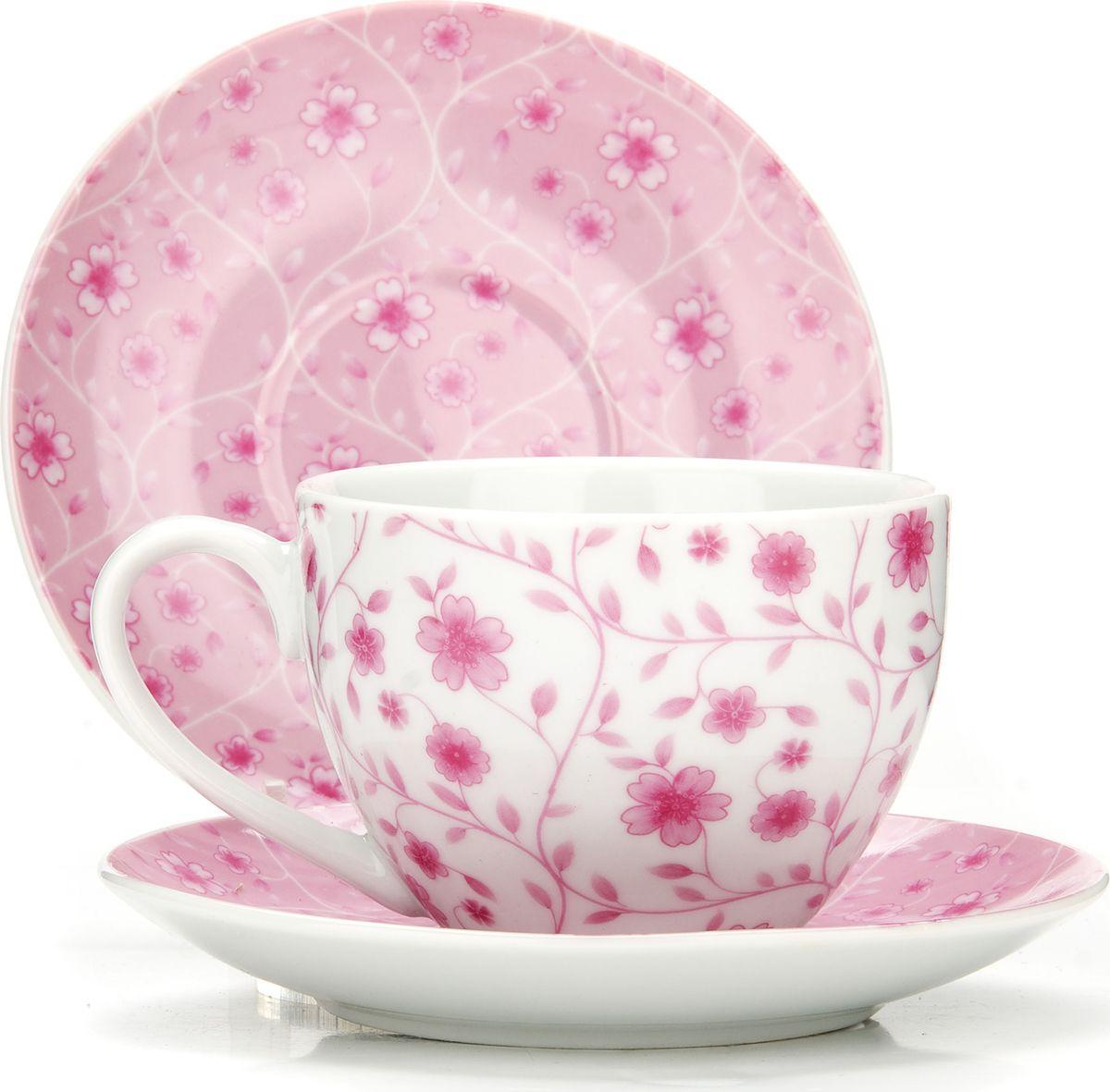 Сервиз чайный Loraine, на подставке, 13 предметов. 43291115510Чайный набор состоит из шести чашек, шести блюдец и металлической подставки. Предметы набора изготовлены из качественного фарфора и оформлены красочным рисунком. Чайный набор идеально подойдет для сервировки стола и станет отличным подарком к любому празднику. Все изделия можно компактно хранить на подставке, входящей в набор. Подходит для мытья в посудомоечной машине.Диаметр чашки: 9 см.Высота чашки: 7 см.Объем чашки: 220 мл.Диаметр блюдца: 14 см.