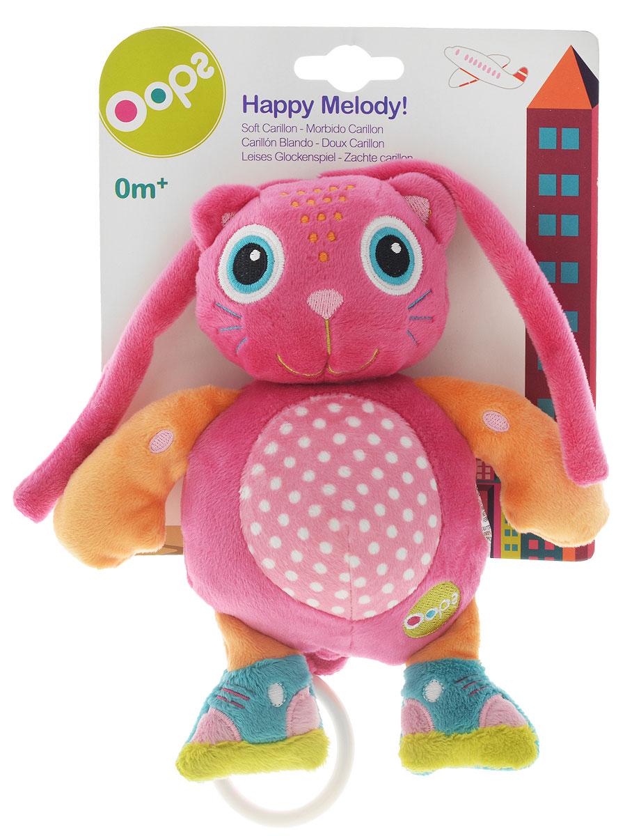 Oops Музыкальная игрушка-подвеска Кошка кошка игрушка робот купить