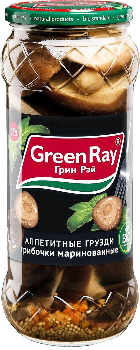 Green Ray грузди маринованные, 580 мл627Грибы Green Ray богаты белками и минералами. После обработки в процессе соления или маринада полезные свойства практически не утрачиваются.