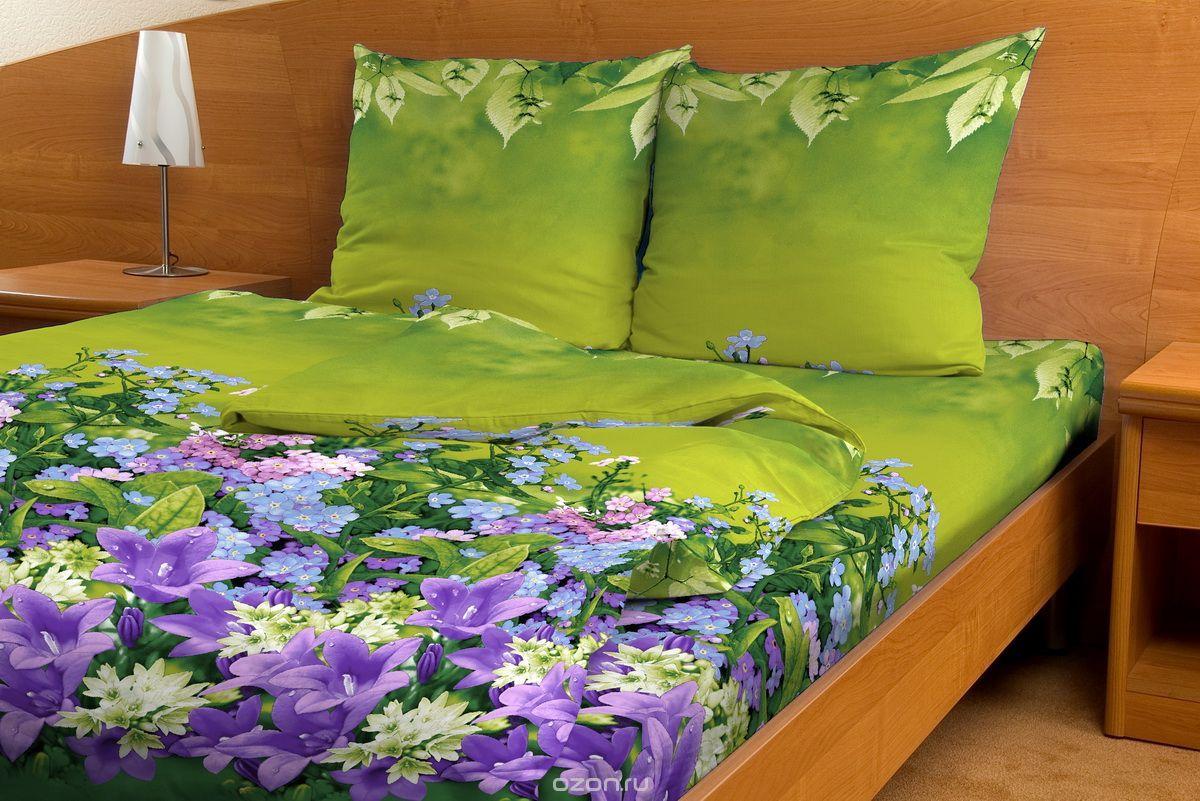 Комплект белья Amore Mio Assorti, семейный, наволочки 70x70, цвет: зеленый, фиолетовыйД Дачно-Деревенский 20Комплект постельного белья Amore Mio Assorti является экологически безопасным для всей семьи, так как выполнен из бязи (100% хлопок). Комплект состоит из двух пододеяльников, простыни и двух наволочек. Постельное белье оформлено оригинальным рисунком и имеет изысканный внешний вид.Легкая, плотная, мягкая ткань отлично стирается, гладится, быстро сохнет. Рекомендации по уходу: Химчистка и отбеливание запрещены.Рекомендуется стирка в прохладной воде при температуре не выше 30°С.
