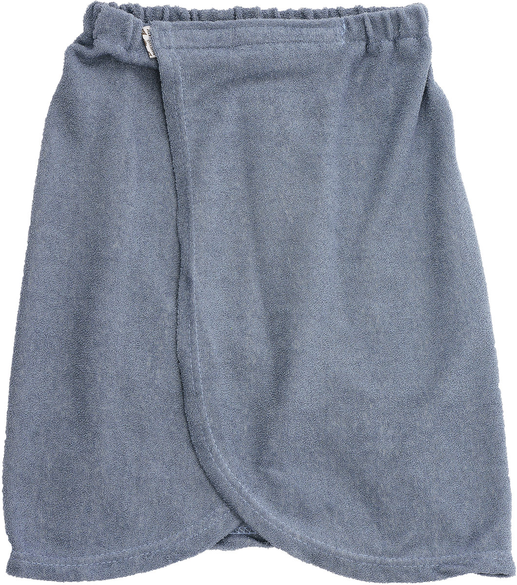 Килт для бани детский Юный банщик, цвет: серый, 41 х 60 смRSP-202SКилт Юный банщик изготовлен из натурально хлопка.Детский банный килт - это многофункциональная накидка специального покроя с резинкой и застежкой-липучкой. В парилке можно лежать на нем, после душа вытираться. Длина килта: 41 см.Ширина килта (по поясу): 60 см.Рекомендуемый рост: 128 - 146 см.