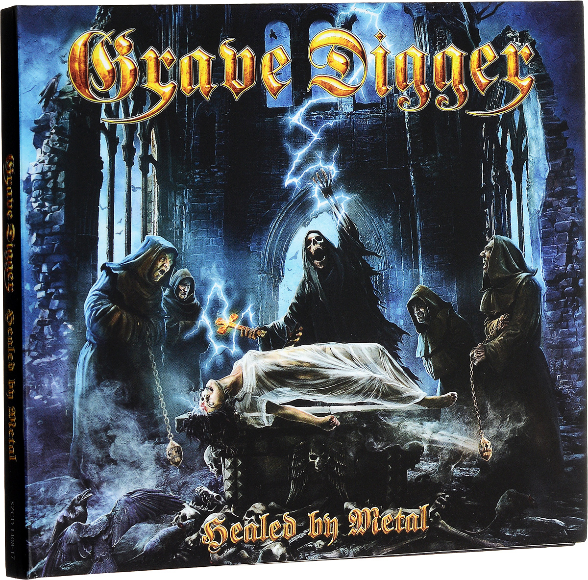Grave Digger Grave Digger. Healed By Metal 100% new and original xgf dv4a ls lg plc special module analog output module