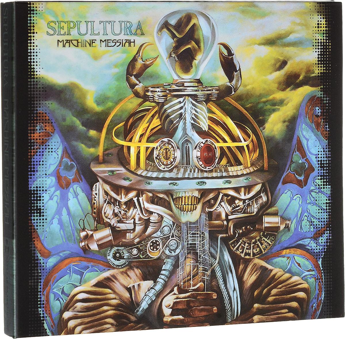 Sepultura Sepultura. Machine Messiah (CD + DVD) dream machine cd