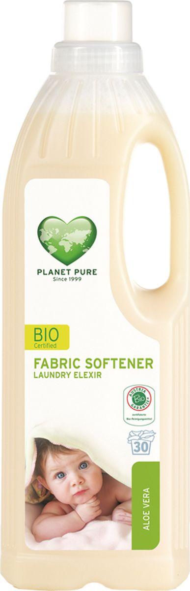 Planet Pure Кондиционер для белья Алоэ вера 1000 мл9120001468942BIO Кондиционер для детского белья экстра-мягкий Planet Pure АЛОЭ ВЕРА изготавливается на чисто растительной основе без растворителей, химических ПАВ, отдушек и пальмового масла. Придает тканям мягкость и свежесть. Поскольку этот продукт состоит из чистых растений и их экстрактов, таких как сапонария, рапс, календула и розмарин, он бережно относится к вашей коже и сохраняет нашу окружающую среду. Ваше бельё получается более мягким и гладким после сушки, со свежим ароматом алоэ вера. Особенности: Растительная основа; Забота в вашей коже; Драгоценные экстракты трав; Без нефтепродуктов и пальмового масла; Без ГМО; Без тестов на животных.Товар сертифицирован.