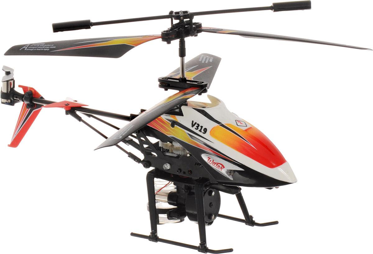 ABtoys Вертолет на инфракрасном управлении Water цвет черный белый красный