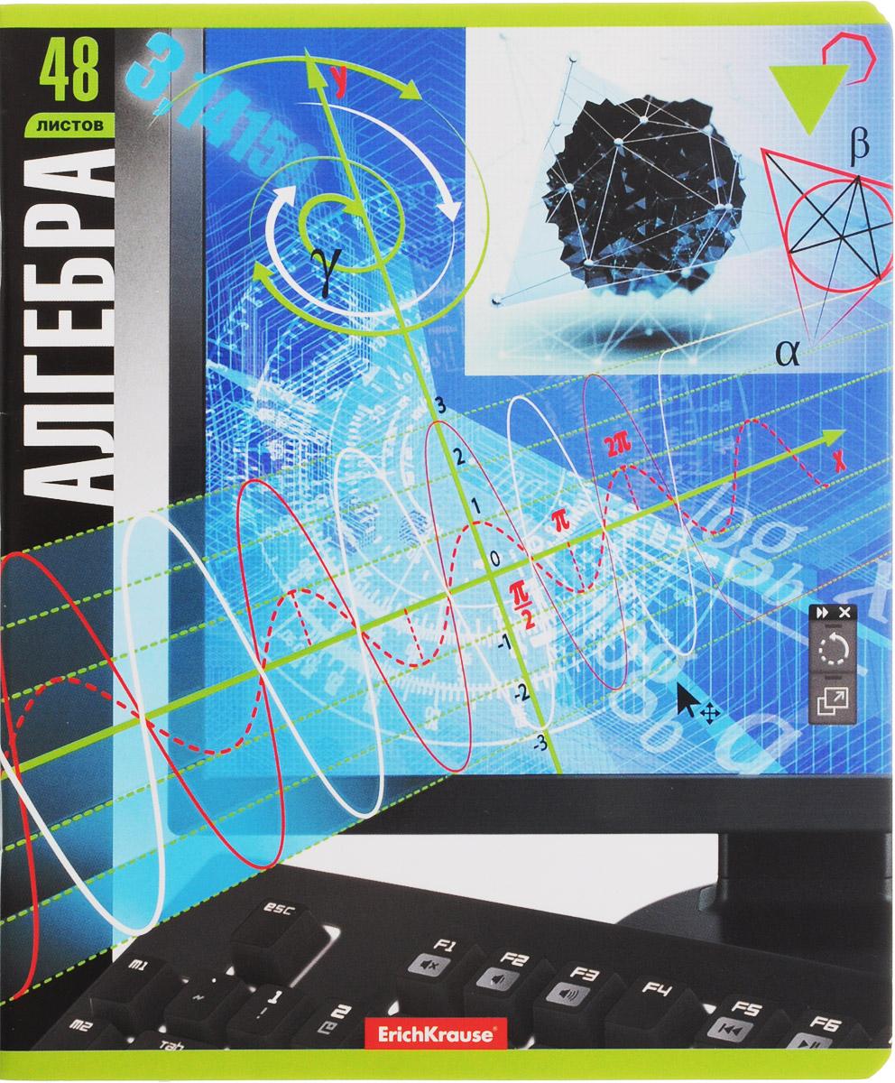 Erich Krause Тетрадь Алгебра 48 листов в клетку72523WDТетрадь Erich Krause Алгебра подойдет школьникам, учащимся в средних классах. Внутренний блок на скрепках состоит из 48 листов формата А5. Тетрадь имеет стандартную линовку в голубую клетку. Гибкая плотная обложка поможет сохранить аккуратный внешний вид тетради надолго. На лицевой стороне тетради изображены алгебраические формулы.Тетрадь Erich Krause Алгебра займет достойное место среди ваших канцелярских принадлежностей.