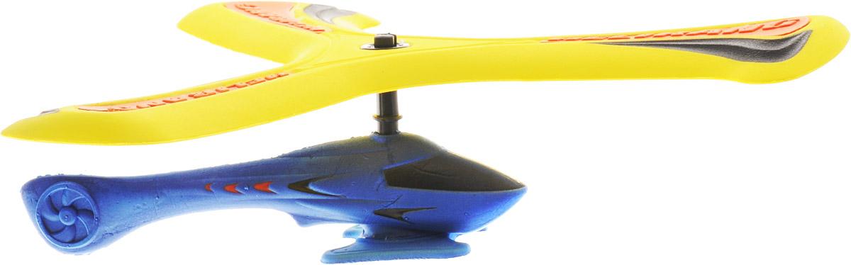 Helirang Бумеранг Zing Air с вертолетом цвет желтый синий