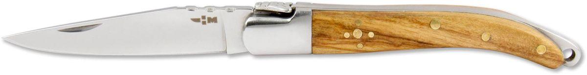 Нож складной Ножемир Четкий расклад, нержавеющая сталь, общая длина 14 см. C-170FK-A137Классический складной нож Ножемир Четкий расклад подойдет для продолжительных походов на природу, либо как дублирующий нож для основного. Лезвие с зеркальной полировкой выполнено из нержавеющей стали. Рукоять изготовлена из стабилизированного дерева. Фиксатор предотвращает нежелательно сложение изделия. Небольшие размеры в сложенном виде обеспечивают легкую транспортировку ножа.Общая длина ножа: 14 см.Твердость стали: 55-56 HRC.