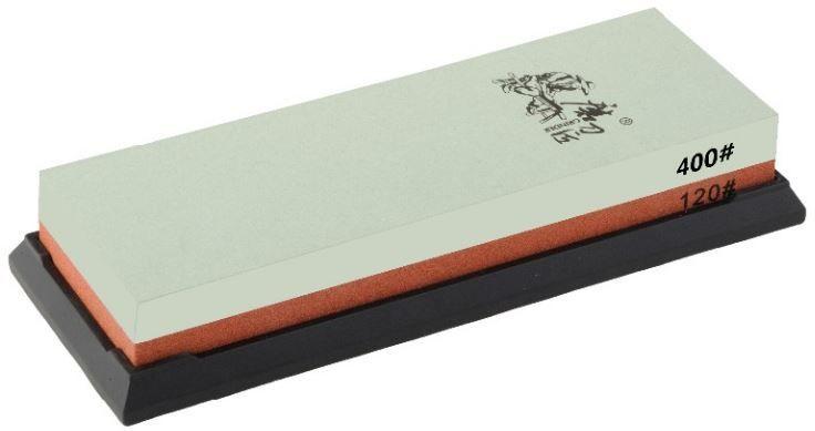 Точильный камень Ножемир, двусторонний, зернистость 120 / 400 грит. T6412W010-01199-23полное название: точильный камень двустороннийбренд: Taideaзернистость, грит: 120; 400масса, гр: 700размер, см: 19 х 7 х 3,3упаковка: картонная коробкаразмер упаковки, см: 20,5 х 8,7 х 4,7масса в упаковке, гр: 766