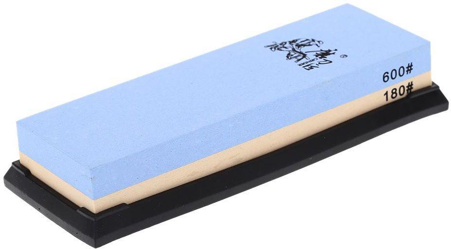 Точильный камень Ножемир, двусторонний, зернистость 180 / 600 грит. T6618W67742полное название: точильный камень двустороннийбренд: Taideaзернистость, грит: 180; 600масса, гр: 657размер, см: 19 х 7 х 3,3упаковка: картонная коробкаразмер упаковки, см: 20,5 х 7,8 х 3,7масса в упаковке, гр: 730