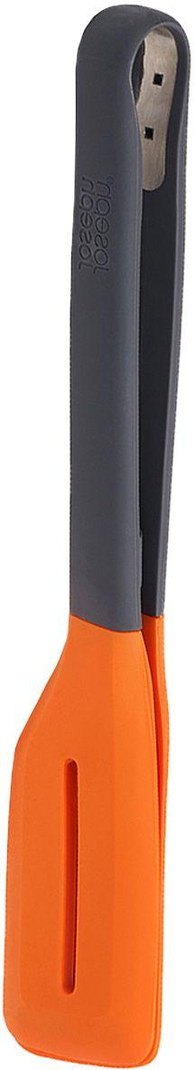 Щипцы для гриля Joseph Joseph Turner Tongs, цвет: серый, оранжевый54 009312Щипцы для гриля Joseph Joseph Turner Tongs- эргономичные кухонные щипцы с широкими заостренными наконечниками позволят с легкостью подцеплять и переворачивать любые продукты во время жарки.Благодаря силиконовому покрытию щипцы можно использовать совместно с противопригарной посудой. Прибор выдерживает температуру до 270 C. А специальные крючки на ручках соединяют щипцы для компактного хранения.