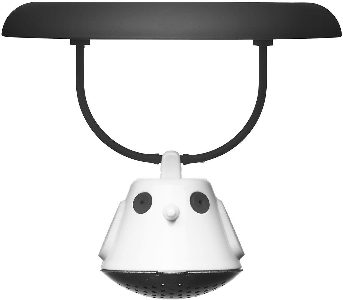 Емкость для заваривания чая QDO Birdie Swing, с крышкой, цвет: черныйVT-1520(SR)Оригинальная емкость для заваривания чая в виде небольшой птички. Снабжена крышкой для кружки, с помощью которой можно быстро и безопасно приготовить любимый напиток.