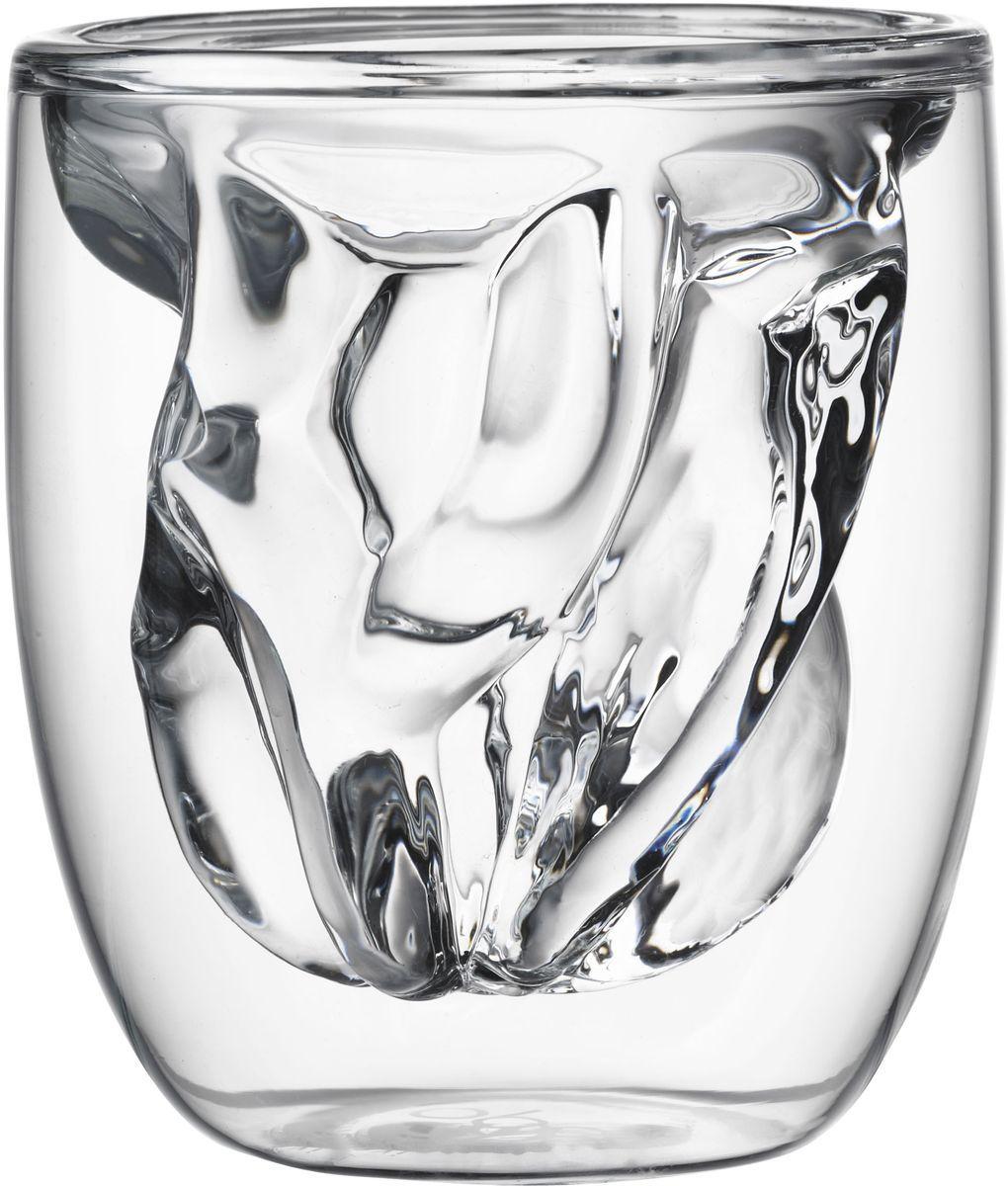 Набор стаканов QDO Elements Earth, 75 мл, 2 штVT-1520(SR)Набор Elements - это оригинальные стаканы с двойными стенками и оригинальным дизайном, изображающим главные элементы природы. Выполнен из боросиликатного стекла, устойчивого к перепадам температур. Каждый стакан состоит из двух форм: классическая внешняя позволит держать емкость с горячим содержимым в руке без риска обжечься, а модифицированная внутренняя придаст вашим напиткам необычный вид. Стаканы станут идеальным украшением барной стойки, вечеринки или просто домашней коллекции. Объем - 75 мл. Можно мыть в посудомоечной машине.
