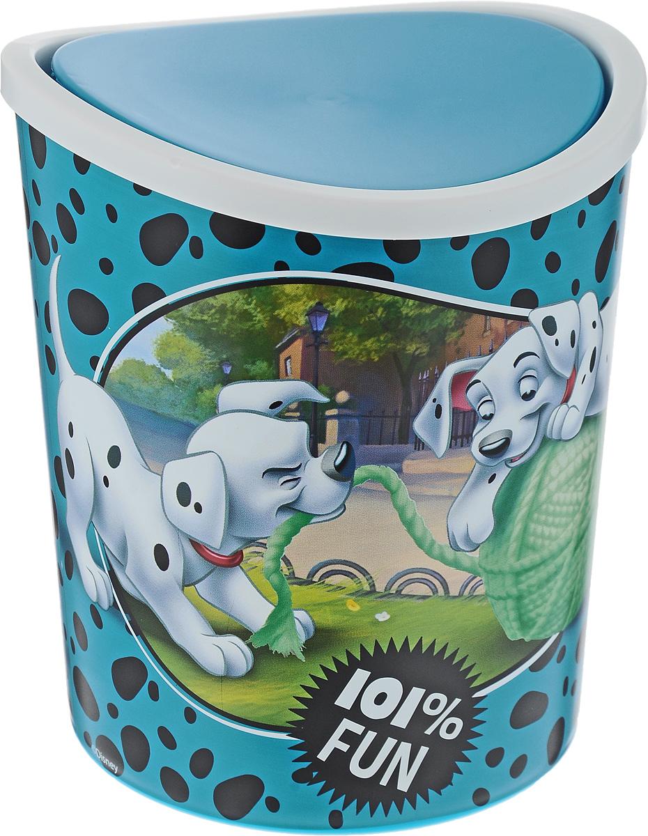 Контейнер для мусора Idea Disney. Далматинцы, настольный, 1,6 лMP-504_фиолетовыйКонтейнер для мусора Idea Disney. Далматинцы изготовлен из прочного пластика. Такой аксессуар очень удобен в использовании. Контейнер снабжен удобной поворачивающейся крышкой, которая при необходимости легко снимается. Стильный дизайн сделает его прекрасным украшением интерьера детской комнаты.