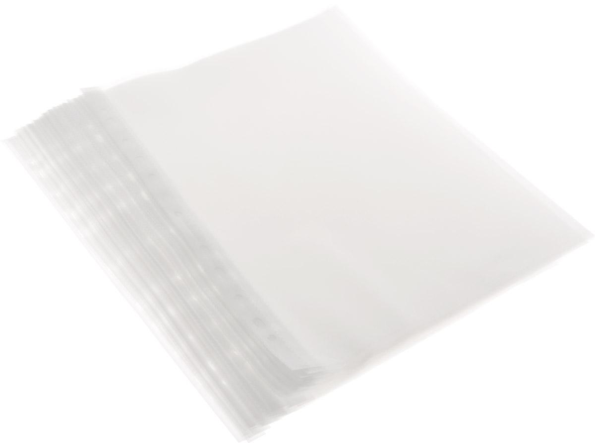 Файл-вкладыш Proff, 100 шт28-3051 (A040-11-100)Файл-вкладыш Proff с европейской перфорацией позволяет хранить документы без перфорирования с возможностью подшивки в папку-регистратор. Изготовлен из плотного полипропилена. Тиснение поверхности позволяет легко и быстро открыть файл.Характеристики:Толщина пленки: 40 мкм. Размер файла: 23,5 см х 31 см. Изготовитель: Россия.