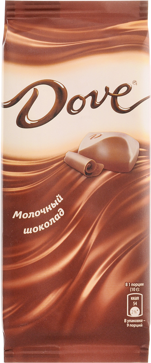 Dove молочный шоколад, 90 г0120710Молочный шоколад Dove нежный, как шелк: такой же обволакивающий, роскошный, соблазнительный. Dove изготовлен только из высококачественных, натуральных ингредиентов. Окунитесь в шелковое удовольствие! Уважаемые клиенты! Обращаем ваше внимание, что полный перечень состава продукта представлен на дополнительном изображении.