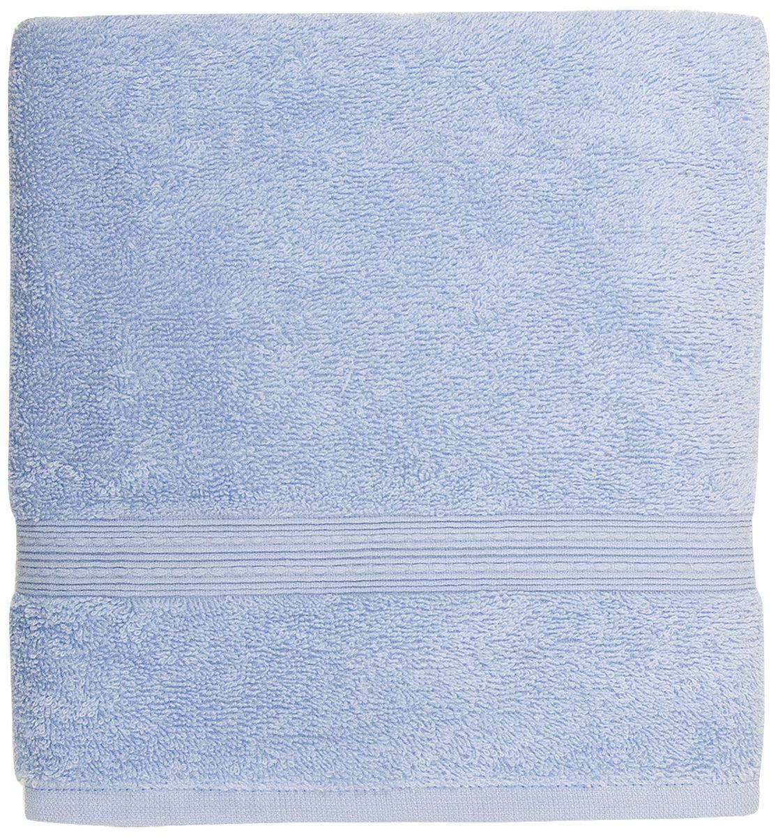 Полотенце банное Bonita Classic, цвет: азур, 70 х 140 см68/5/1Банное полотенце Bonita Classic выполнено из 100% хлопка. Изделие отлично впитывает влагу, быстро сохнет, сохраняет яркость цвета и не теряет форму даже после многократных стирок. Такое полотенце очень практично и неприхотливо в уходе. Оно создаст прекрасное настроение и украсит интерьер в ванной комнате.