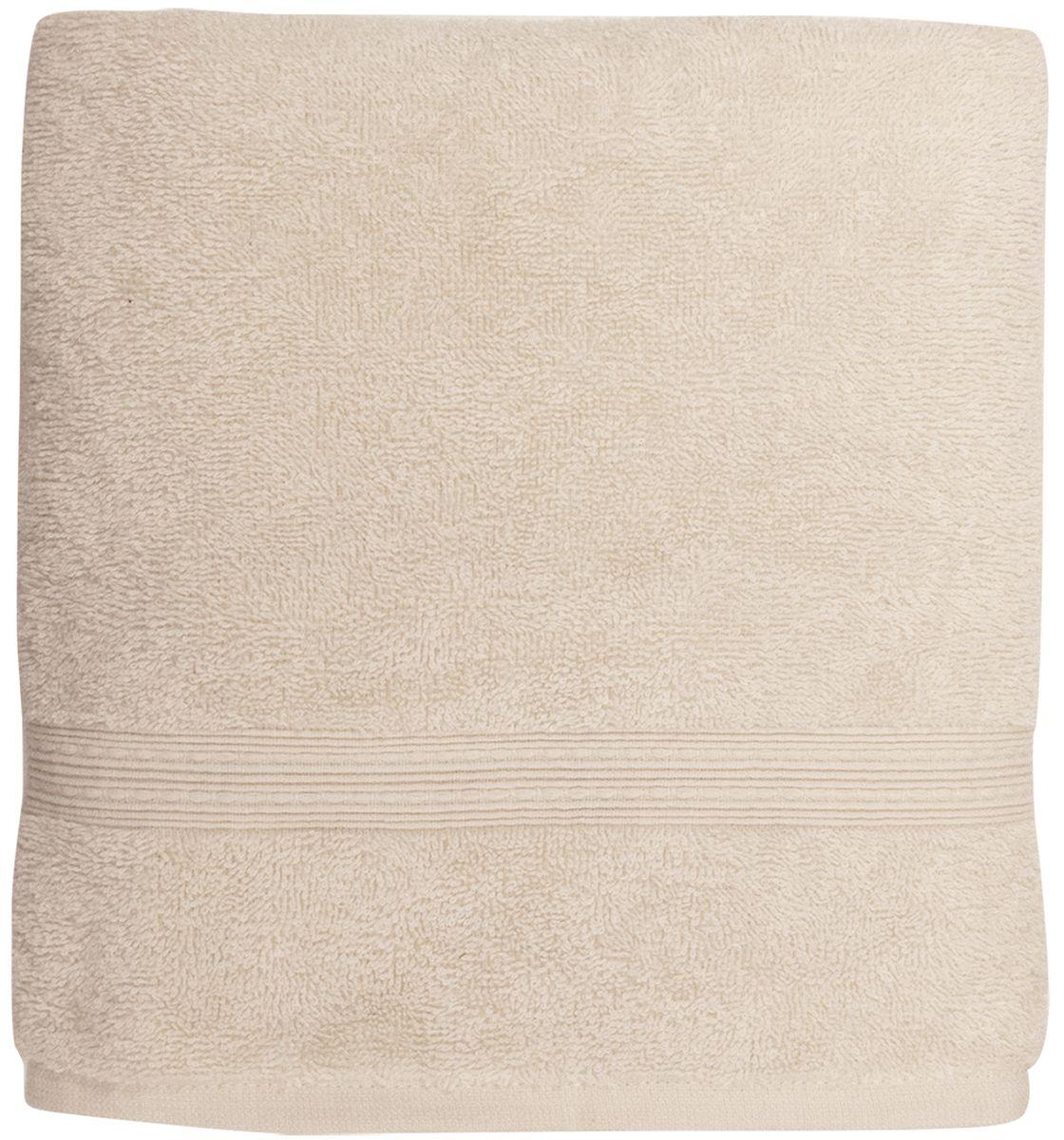 Полотенце банное Bonita Classic, цвет: кремовый, 70 х 140 см1011217221Банное полотенце Bonita Classic выполнено из 100% хлопка. Изделие отлично впитывает влагу, быстро сохнет, сохраняет яркость цвета и не теряет форму даже после многократных стирок. Такое полотенце очень практично и неприхотливо в уходе. Оно создаст прекрасное настроение и украсит интерьер в ванной комнате.