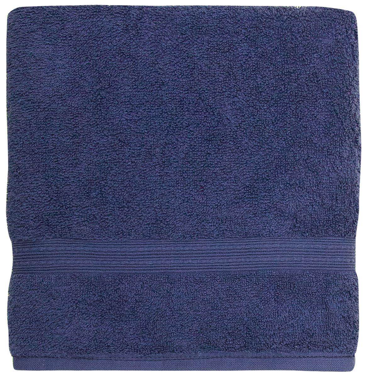 Полотенце банное Bonita Classic, цвет: сапфир, 50 x 90 см68/5/4Банное полотенце Bonita Classic выполнено из 100% хлопка. Изделие отлично впитывает влагу, быстро сохнет, сохраняет яркость цвета и не теряет форму даже после многократных стирок. Такое полотенце очень практично и неприхотливо в уходе. Оно создаст прекрасное настроение и украсит интерьер в ванной комнате.