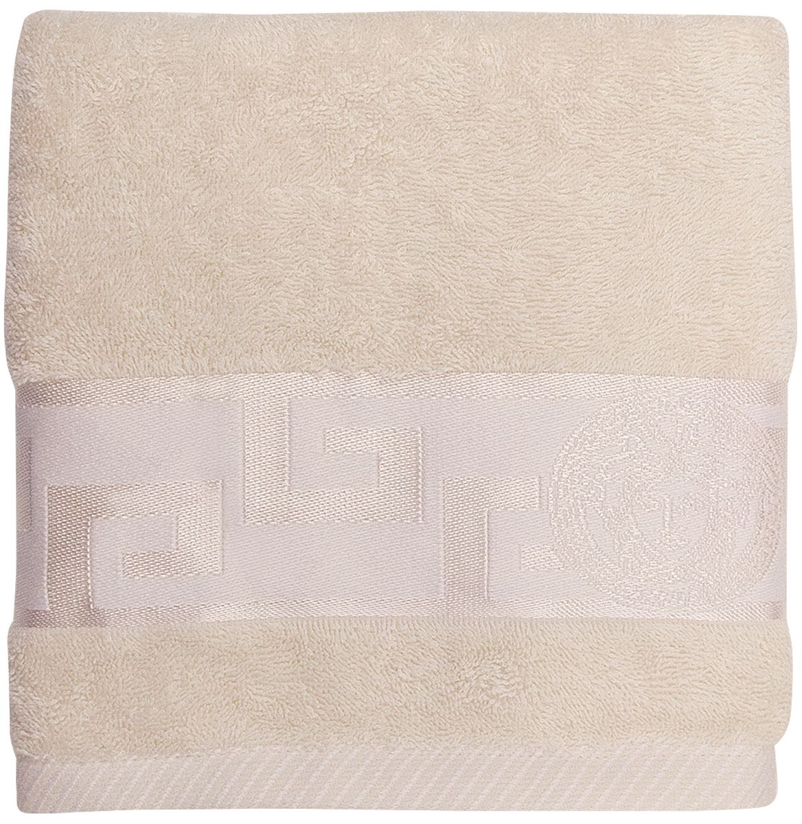 Полотенце банное Bonita Медея, цвет: кремовый, 50 x 90 см1011217229Банное полотенце Bonita Медея выполнено из 100% хлопка. Изделие отлично впитывает влагу, быстро сохнет, сохраняет яркость цвета и не теряет форму даже после многократных стирок. Такое полотенце очень практично и неприхотливо в уходе. Оно создаст прекрасное настроение и украсит интерьер в ванной комнате.