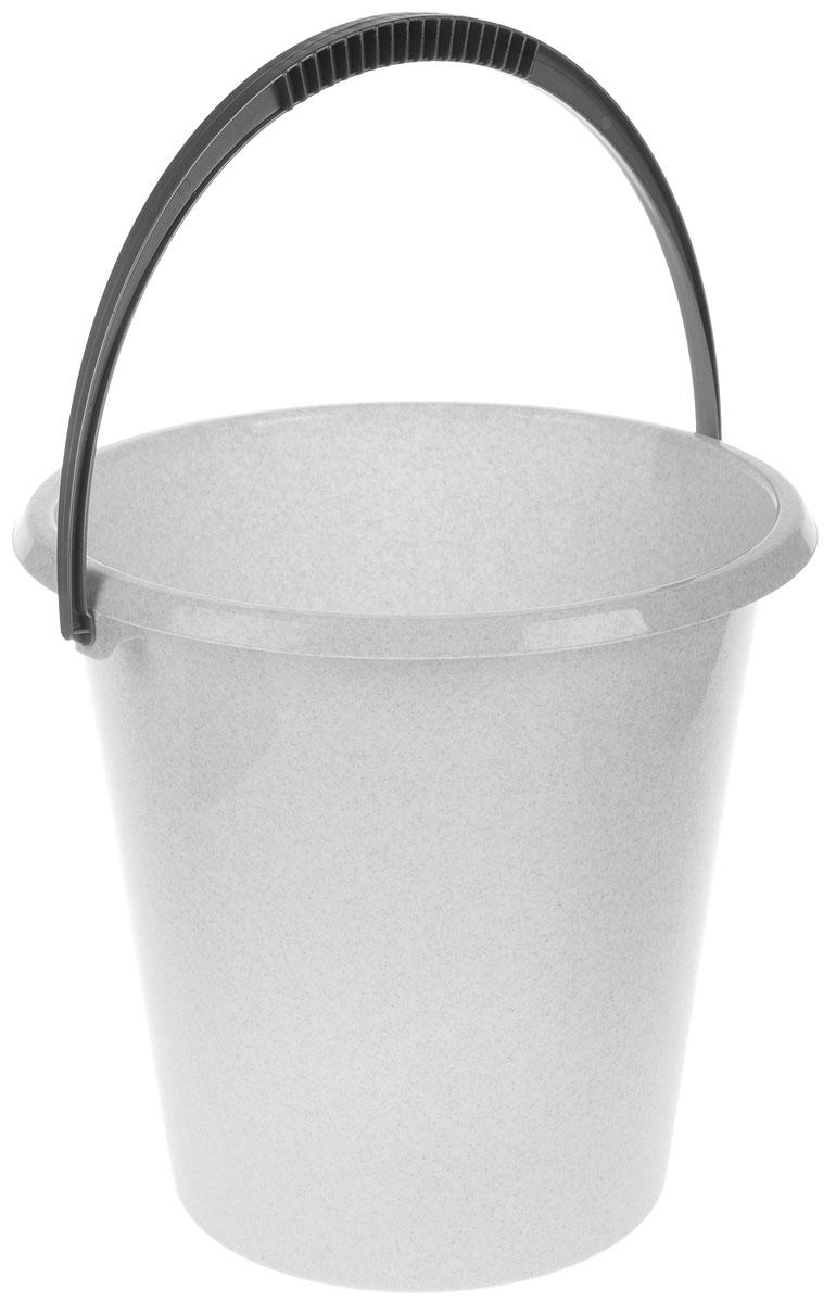Ведро хозяйственное Idea, цвет: мраморный, 11 лМ 2408Ведро Idea изготовлено из высококачественного прочного пластика. Оно легче железного и не подвержено коррозии. Ведро оснащено удобной пластиковой ручкой. Такое ведро станет незаменимымпомощником в хозяйстве.Диаметр (по верхнему краю): 29 см.Высота: 29 см.