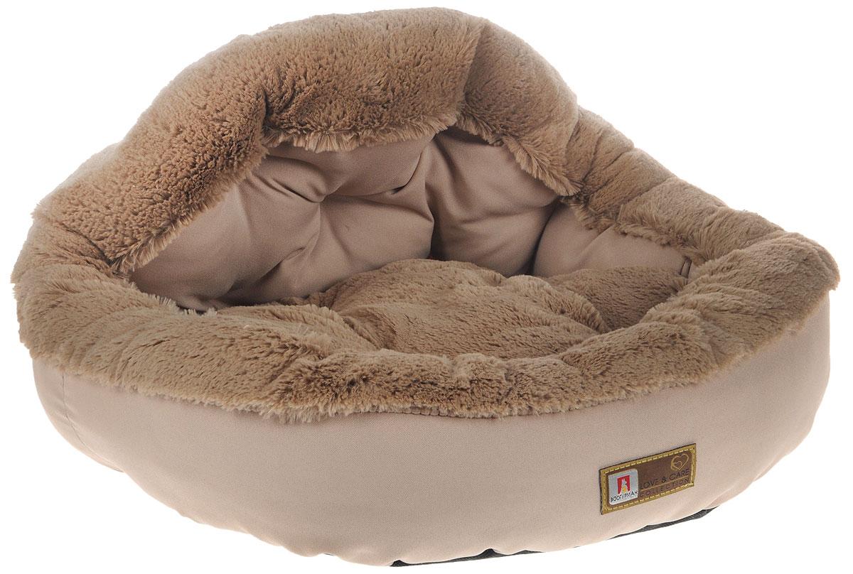 Лежак для собак и кошек Зоогурман Президент, цвет: бежевый, 45 х 45 х 20 см0120710Мягкий и уютный лежак для кошек и собак Зоогурман Президент обязательно понравится вашему питомцу. Лежак выполнен из нежного, приятного материала. Внутри - мягкий наполнитель, который не теряет своей формы долгое время.Внутри лежака съемная меховая подушка. Мягкий, приятный и теплый лежак обеспечит вашему любимцу уют и комфорт. За изделием легко ухаживать, можно стирать вручную или в стиральной машине при температуре 40°С. Материал бортиков: микроволоконная шерстяная ткань.Материал спинки и матрасика: искусственный мех.Наполнитель: гипоаллергенное синтетическое волокно.Размер: 45 см х 45 см х 20 см.УВАЖАЕМЫЕ КЛИЕНТЫ! Обращаем ваше внимание на возможные изменения в цветовом дизайне, связанные с ассортиментом продукции: некоторые детали товара могут отличаться по цвету от представленного на изображении. Поставка осуществляется в зависимости от наличия на складе.