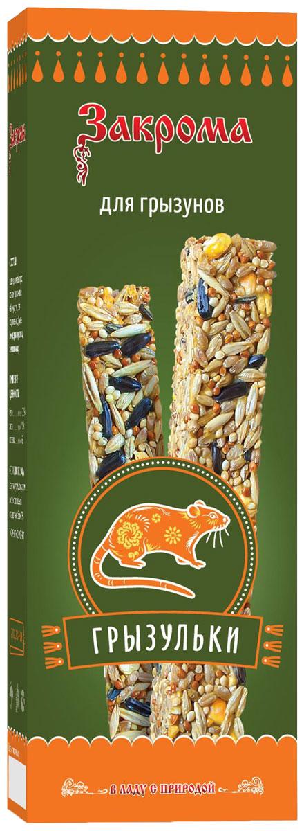 Лакомство для грызунов Закрома Грызульки, палочки, 2 шт43803Это натуральное, сбалансированное дополнение к корму на основе семян, злаков и фруктов. Разместите палочку непосредственно на прутьях клетки в месте, доступном животному.Не содержит крахмал, желатин, сахар.Состав: пшеница, ячмень, просо красное, просо желтое, овёс, кукуруза, семя подсолнечника, фрукты.Пищевая ценность: белки не менее 10,5%, жиры не более 7,5%, клетчатка не более 6%.Товар сертифицирован.