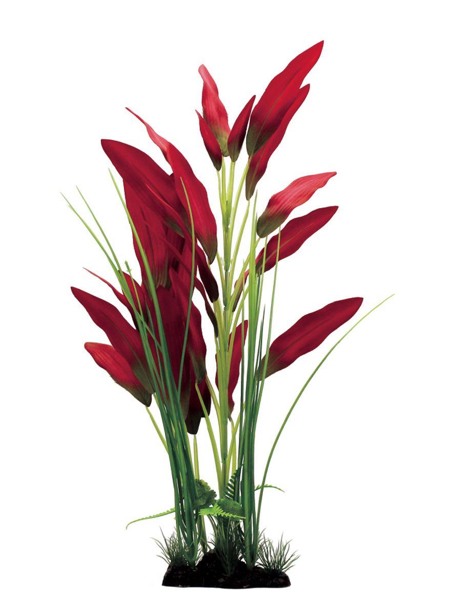 Растение для аквариума ArtUniq Эхинодорус красный, шелковое, высота 40 см. ART-11102200120710Растение для аквариума ArtUniq Эхинодорус красный, шелковое, высота 40 см. ART-1110220