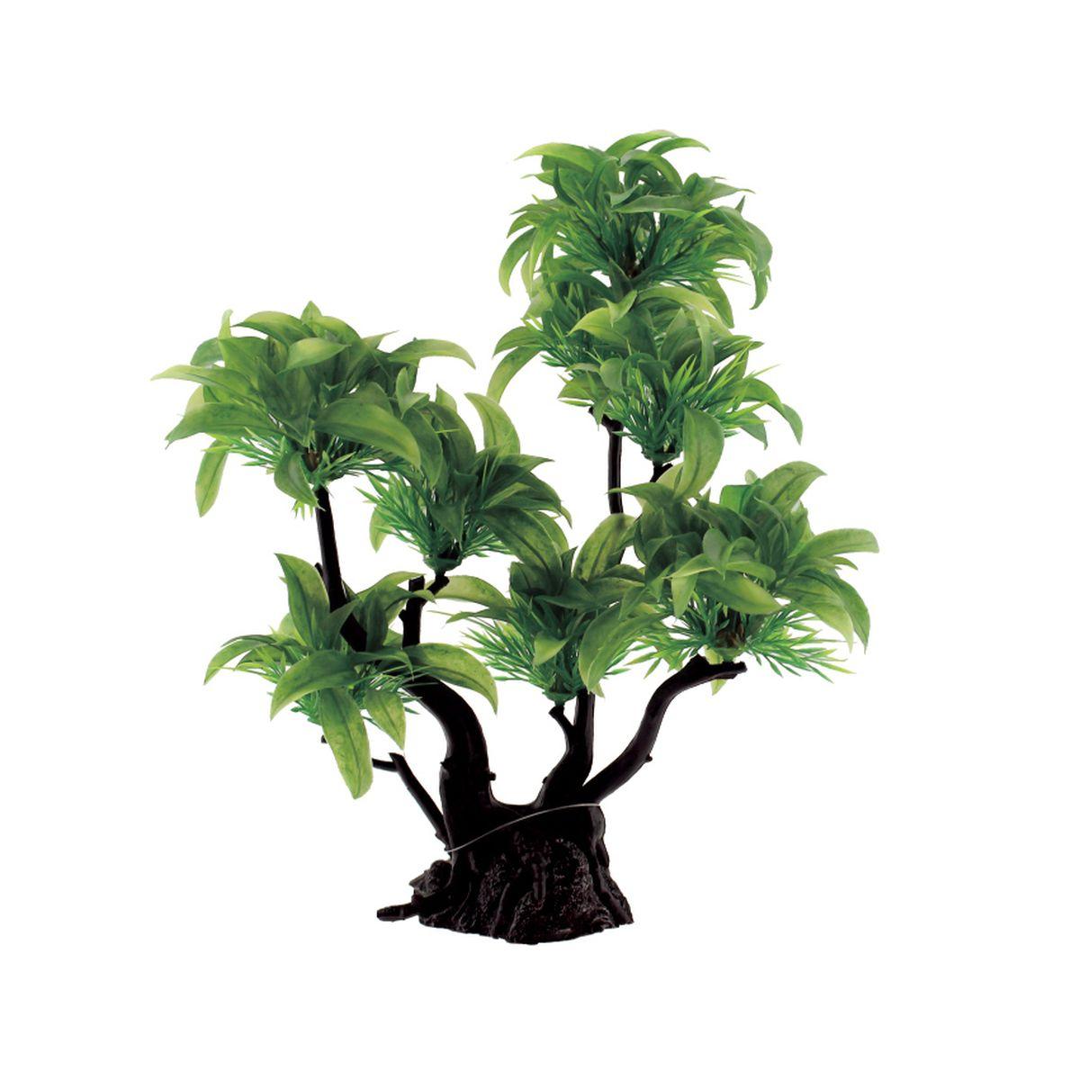 Композиция из растений для аквариума ArtUniq Буцефаландра, 27 x 23 x 32 см0120710Композиция из искусственных растений ArtUniq превосходно украсит и оживит аквариум.Растения - это важная часть любой композиции, они помогут вдохнуть жизнь в ландшафт любого аквариума или террариума. Лучше всего это сделают яркие и сочные цвета искусственных растений серии ArtPlants. Композиция является точной копией природного растения.
