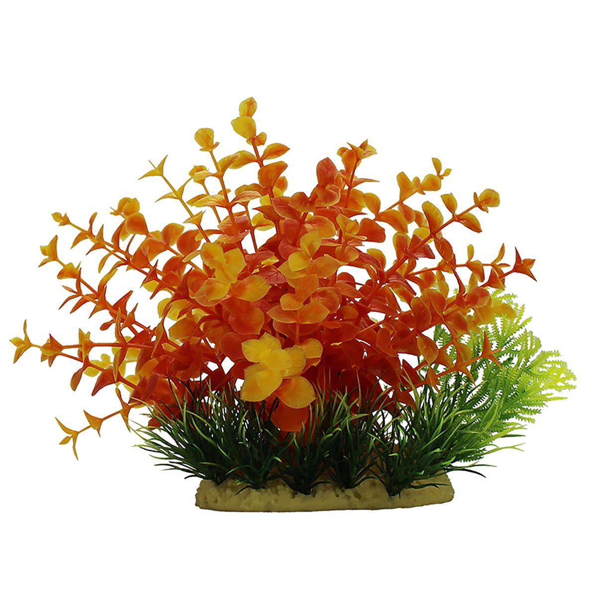 Растение для аквариума ArtUniq Людвигия оранжевая, высота 15 смART-1140105Композиция из искусственных растений ArtUniq превосходно украсит и оживит аквариум.Растения - это важная часть любой композиции, они помогут вдохнуть жизнь в ландшафт любого аквариума или террариума. А их сходствос природными порадует даже самых взыскательных ценителей.
