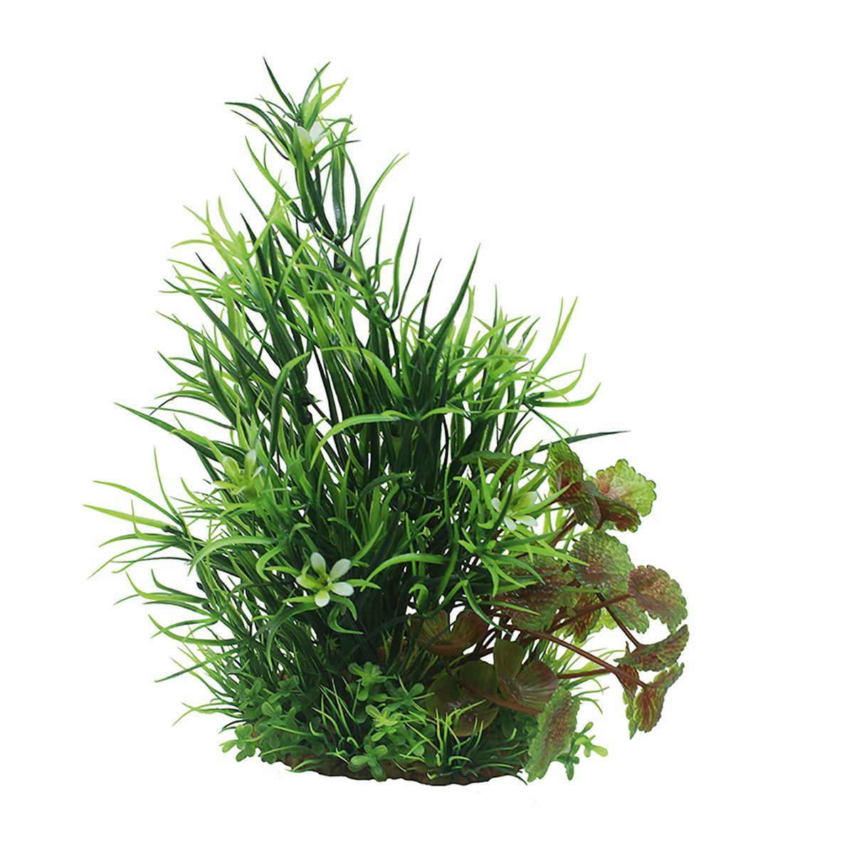 Растение для аквариума ArtUniq Лагаросифон мадагаскарский, высота 15 см0120710Композиция из искусственных растений ArtUniq превосходно украсит и оживит аквариум.Растения - это важная часть любой композиции, они помогут вдохнуть жизнь в ландшафт любого аквариума или террариума. Лучше всего это сделают яркие и сочные цвета искусственных растений серии ArtPlants. А их сходствос природными порадует даже самых взыскательных ценителей.