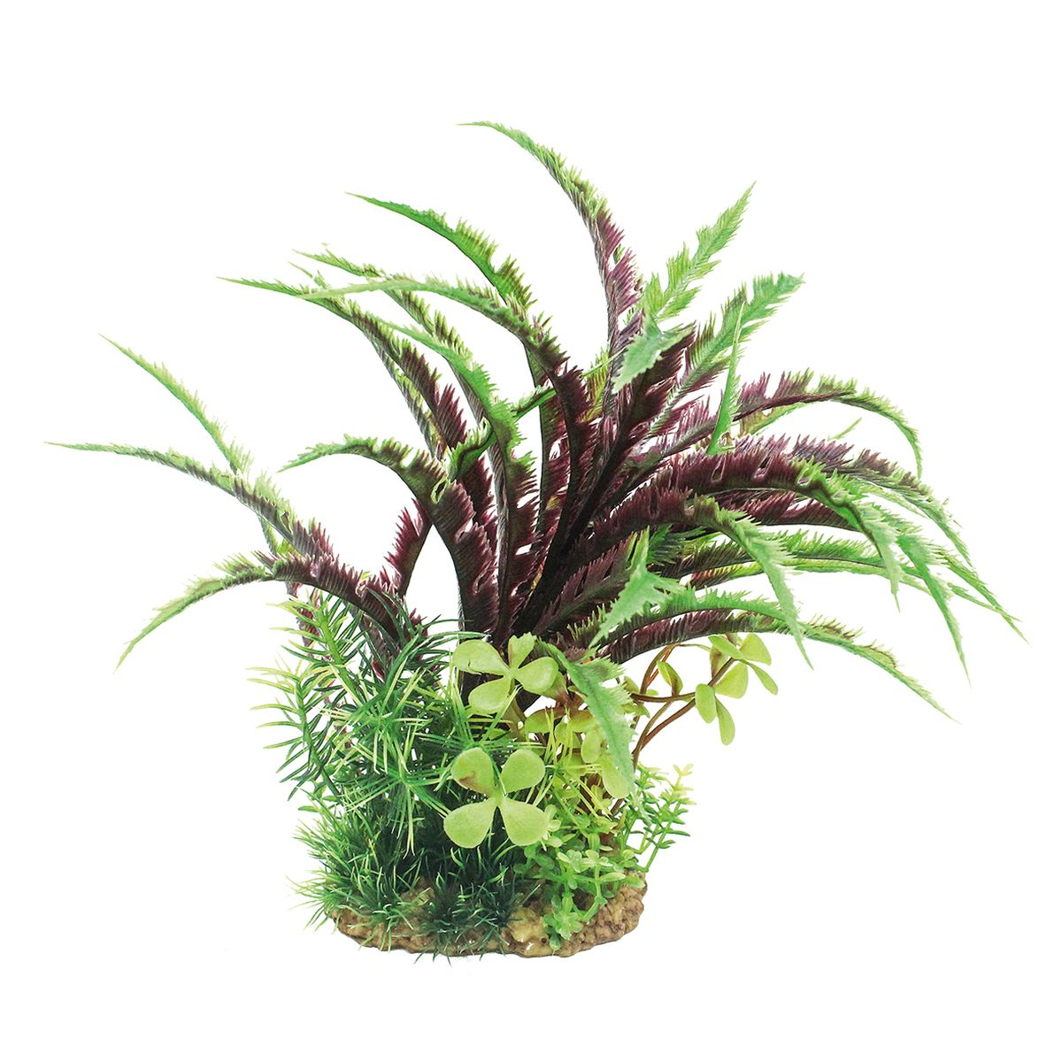 Растение для аквариума ArtUniq Дизиготека, высота 20 см12171996Композиция из искусственных растений ArtUniq превосходно украсит и оживит аквариум.Растения - это важная часть любой композиции, они помогут вдохнуть жизнь в ландшафт любого аквариума или террариума. Лучше всего это сделают яркие и сочные цвета искусственных растений серии ArtPlants. А их сходствос природными порадует даже самых взыскательных ценителей.