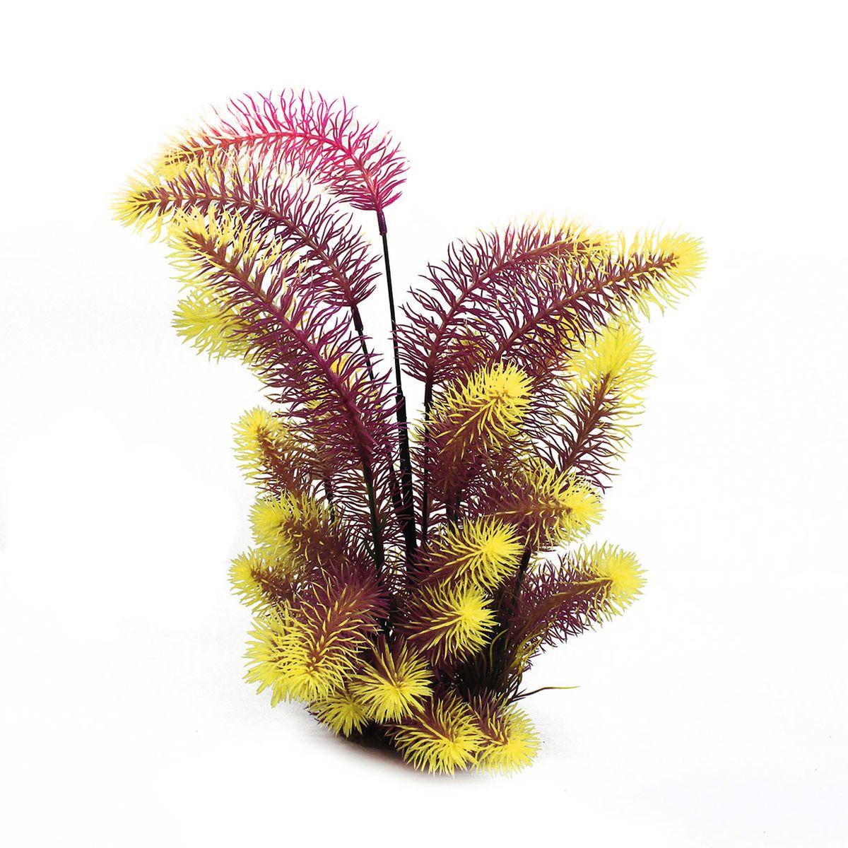 Растение для аквариума ArtUniq Погостемон эректус красно-желтый, высота 38 см0120710Композиция из искусственных растений ArtUniq превосходно украсит и оживит аквариум.Растения - это важная часть любой композиции, они помогут вдохнуть жизнь в ландшафт любого аквариума или террариума. А их сходствос природными порадует даже самых взыскательных ценителей.