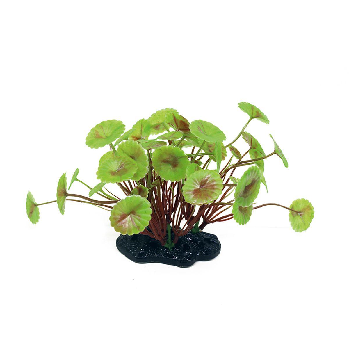 Растение для аквариума ArtUniq Щитолистник вертикальный, высота 10-12 см0120710Композиция из искусственных растений ArtUniq превосходно украсит и оживит аквариум.Растения - это важная часть любой композиции, они помогут вдохнуть жизнь в ландшафт любого аквариума или террариума. А их сходствос природными порадует даже самых взыскательных ценителей.