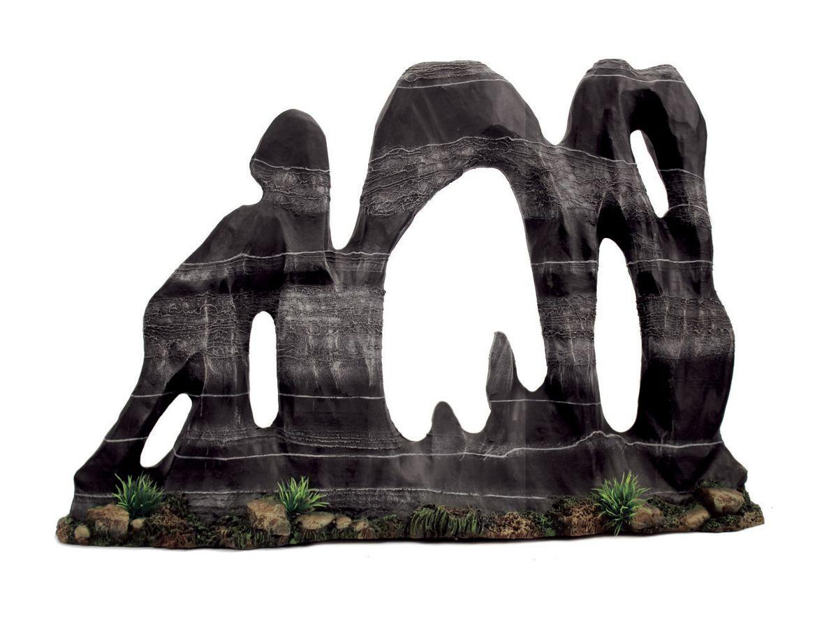 Декорация для аквариума ArtUniq Фигурная скала, 44,5 x 10,5 x 30,5 см0120710Декорация ArtUniq – это яркая и важная часть любой композиции, она поможет вдохнуть жизнь в ландшафт любого аквариума или террариума. Декорация безопасна для обитателей аквариума, она не меняет параметры воды. Многие обитатели аквариума часто используют декорации как укрытия, в которых они живут и размножаются. Благодаря декорациям ArtUniq вы сможете создать прекрасный пейзаж на дне вашего аквариума или террариума.