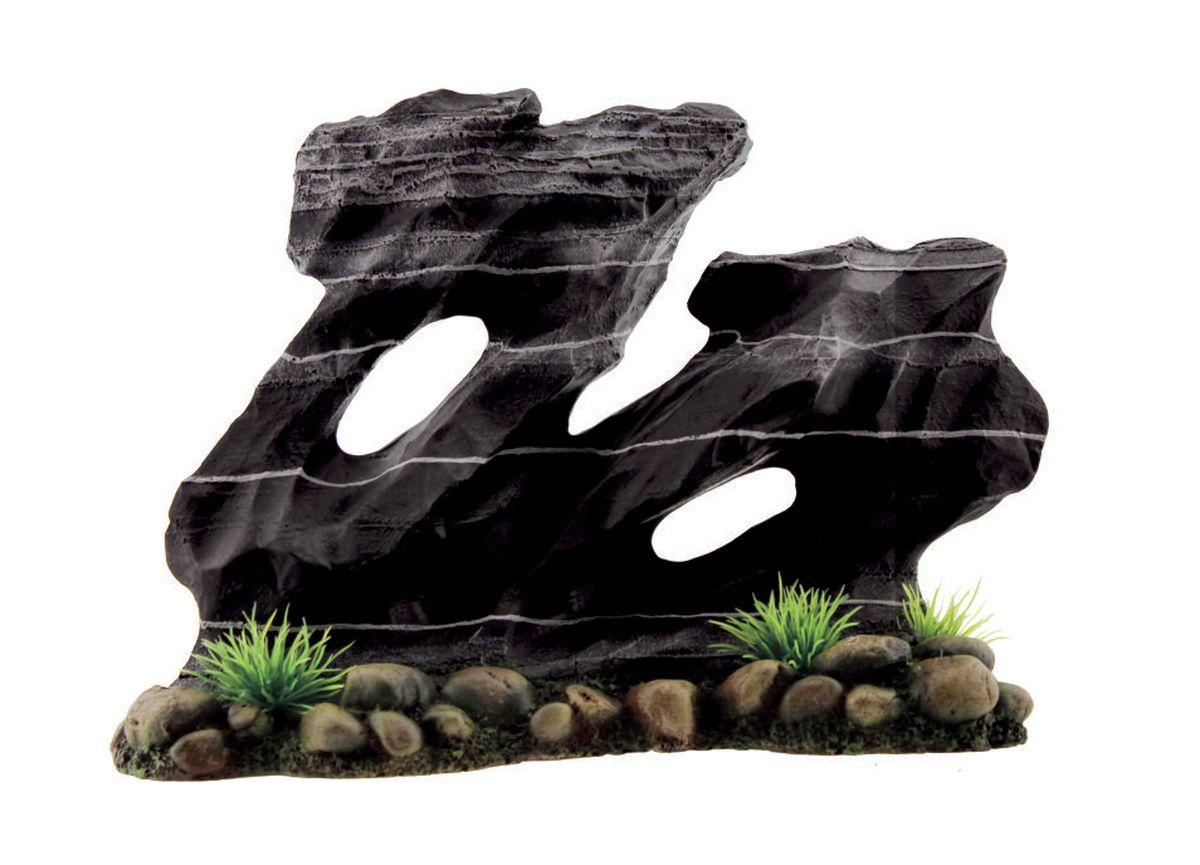 Декорация для аквариума ArtUniq Каменная скульптура, 24 x 10 x 17,5 см0120710Декорация ArtUniq – это яркая и важная часть любой композиции, она поможет вдохнуть жизнь в ландшафт любого аквариума или террариума. Декорация безопасна для обитателей аквариума, она не меняет параметры воды. Многие обитатели аквариума часто используют декорации как укрытия, в которых они живут и размножаются. Благодаря декорациям ArtUniq вы сможете создать прекрасный пейзаж на дне вашего аквариума или террариума.