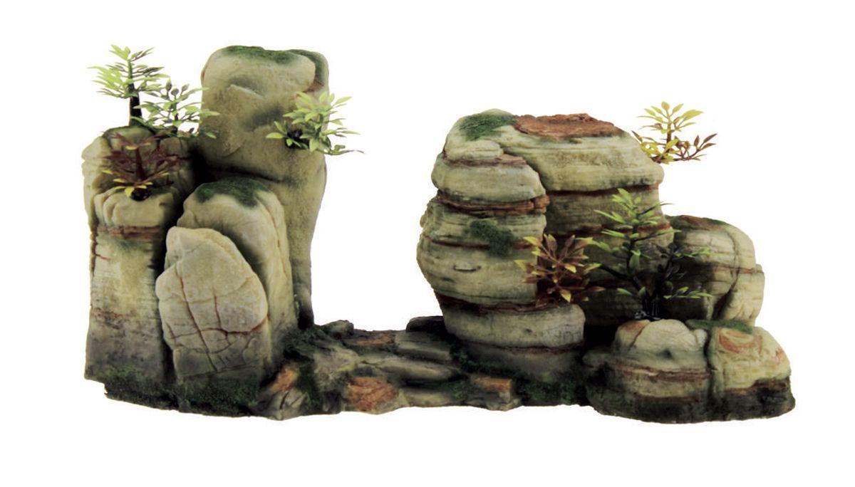 Декорация для аквариума ArtUniq Горный обрыв, 33,7 x 12,5 x 17 см0120710Декорация ArtUniq – это яркая и важная часть любой композиции, она поможет вдохнуть жизнь в ландшафт любого аквариума или террариума. Декорация безопасна для обитателей аквариума, она не меняет параметры воды. Многие обитатели аквариума часто используют декорации как укрытия, в которых они живут и размножаются. Благодаря декорациям ArtUniq вы сможете создать прекрасный пейзаж на дне вашего аквариума или террариума.