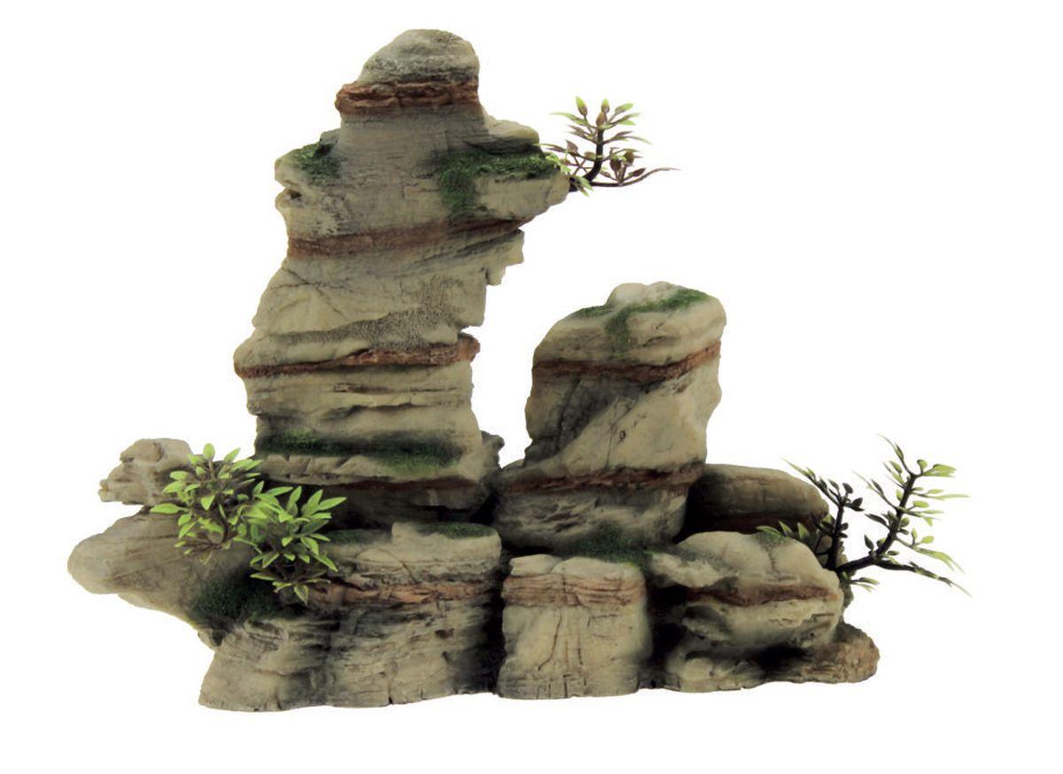Декорация для аквариума ArtUniq Узкая расщелина, 29 x 12,5 x 31 см0120710Декорация ArtUniq – это яркая и важная часть любой композиции, она поможет вдохнуть жизнь в ландшафт любого аквариума или террариума. Декорация безопасна для обитателей аквариума, она не меняет параметры воды. Многие обитатели аквариума часто используют декорации как укрытия, в которых они живут и размножаются. Благодаря декорациям ArtUniq вы сможете создать прекрасный пейзаж на дне вашего аквариума или террариума.