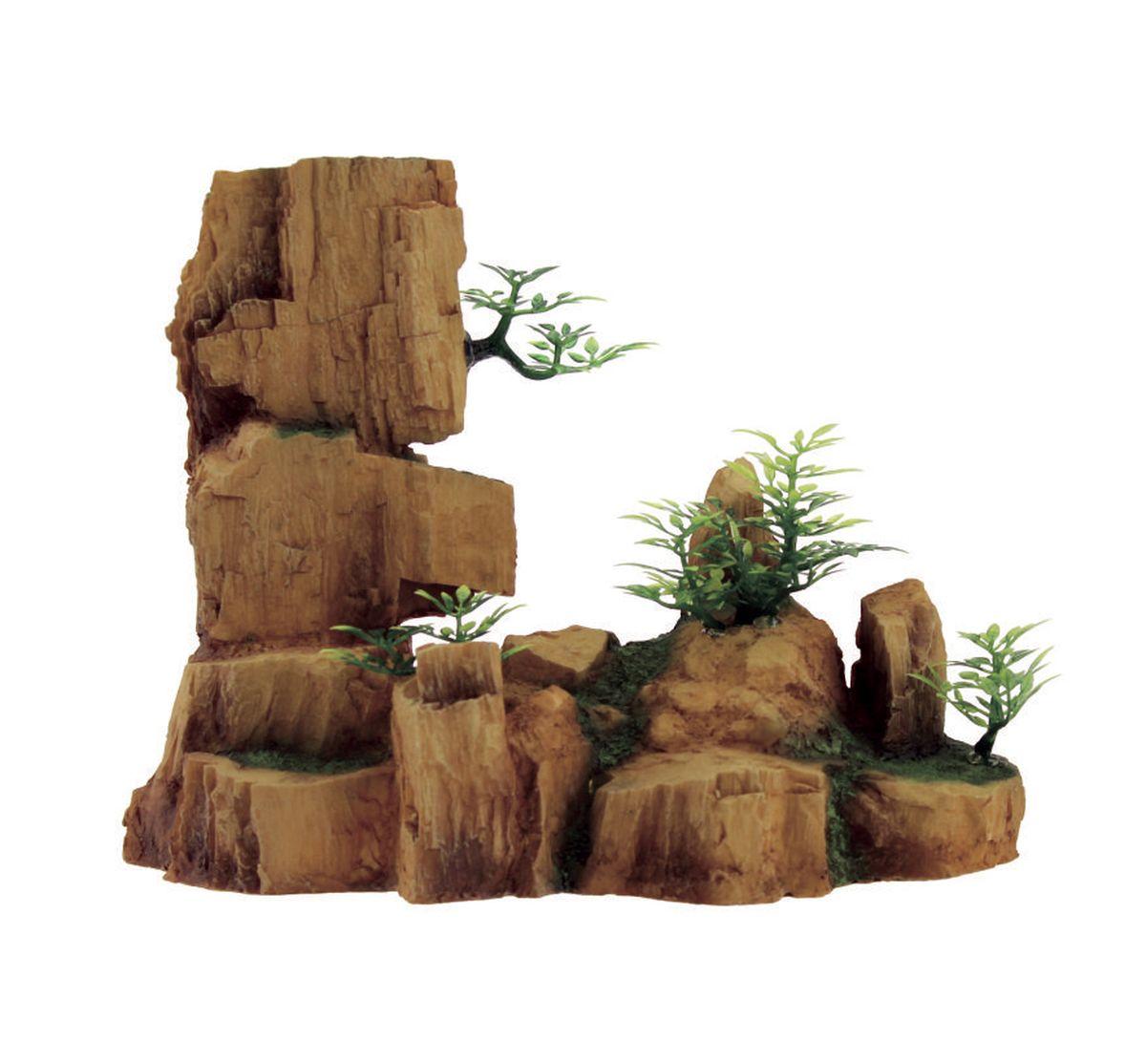 Декорация для аквариума ArtUniq Древние скалы, 24,5 x 11,5 x 19,1 см0120710Декорация ArtUniq – это яркая и важная часть любой композиции, она поможет вдохнуть жизнь в ландшафт любого аквариума или террариума. Декорация безопасна для обитателей аквариума, она не меняет параметры воды. Многие обитатели аквариума часто используют декорации как укрытия, в которых они живут и размножаются. Благодаря декорациям ArtUniq вы сможете создать прекрасный пейзаж на дне вашего аквариума или террариума.