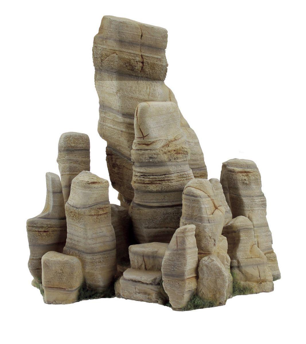 Декорация для аквариума ArtUniq Обтесанные скалы, 28,3 x 19,5 x 30 см0120710Декорация для аквариума ArtUniq Обтесанные скалы, 28,3 x 19,5 x 30 см