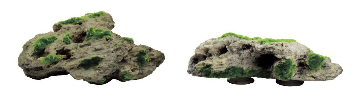 Набор декораций для аквариума ArtUniq Камни со мхом на присоске, 34 x 19 x 10,5 см0120710Декорация ArtUniq- это яркая и важная часть любой композиции, она поможет вдохнуть жизнь в ландшафт любого аквариума или террариума. Декорация безопасна для обитателей аквариума, она не меняет параметры воды. Многие обитатели аквариума часто используют декорации как укрытия, в которых они живут и размножаются. Благодаря декорациям ArtUniq вы можете создать прекрасный пейзаж на дне вашего аквариума или террариума.