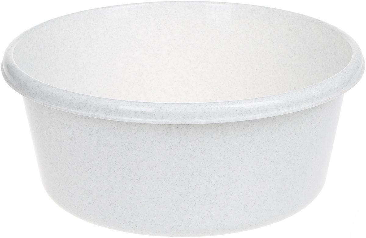 Таз Idea, круглый, цвет: мраморный, 8 лSZ-14Таз Idea выполнен из прочного пластика. Он предназначен для стирки и хранения разных вещей. Также в нем можно мыть фрукты. Такой таз пригодится в любом хозяйстве.Диаметр таза (по верхнему краю): 30 см. Высота стенки: 14 см.